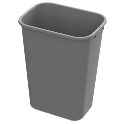 41 Quart Gray Wastebasket