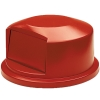 "Red Dome Top Lid - 24.81"" Dia. x 12.63"" H"