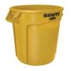 """20 Gallon Yellow Rubbermaid® Brute® - 19.38"""" Dia. x 22.91"""" H"""