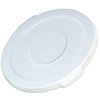 "White Lid for 10 Gallon Rubbermaid® Brute® - 17.13"" Dia. x 1.25"" H"