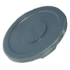 "Gray Lid for 10 Gallon Rubbermaid® Brute® - 17.13"" Dia. x 1.25"" H"