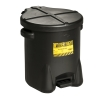 6 Gallon Black Eagle Safety Oily Waste Can