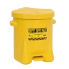 6 Gallon Yellow Eagle Safety Oily Waste Can