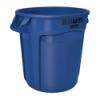 "20 Gallon Blue Rubbermaid® Brute® - 19.38"" Dia. x 22.91"" H"
