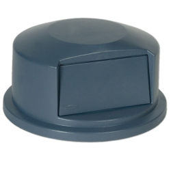"Gray Dome Top Lid - 24.81"" Dia. x 12.63"" H"