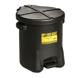 14 Gallon Black Eagle Safety Oily Waste Can