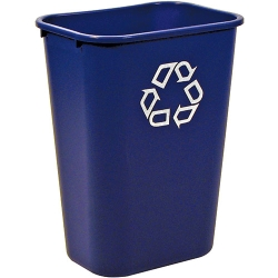 """41-1/4 Qt Rubbermaid® Container w/Recycle Symbol 15-1/4""""L x 11""""W x 19-7/8""""H"""