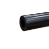 "1.25"" Black Polypropylene Tube"