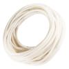 "1/4"" ID x 1/2"" OD Silbrade® Platinum Cured Braid Reinforced Silicone Hose"