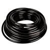 ".125"" ID x 1/4"" OD x .062"" Wall Black Tamco® RT-55D LLDPE Tubing"