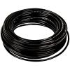 """.125"""" ID x 1/4"""" OD x .063"""" Wall Black Tamco® EH-98A Polyurethane Tubing"""