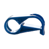"Blue Polypropylene Tubing Clamp for Tubing up to 0.25"" OD"