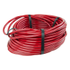 "1/8"" ID x 1/4"" OD x 1/16"" Wall Opaque Red PVC Tubing"