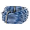 "1/8"" ID x 1/4"" OD x 1/16"" Wall Opaque Blue PVC Tubing"