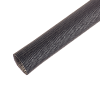 "#2 (0.263"" Dia.) Black Fiberglass Braided Sleeving"