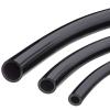 "1/4"" ID x 3/8"" OD x 1/16"" Wall Black UV Resistant PVC Tubing"