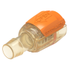 """1/8"""" Hose Barb Natural Polysulfone Female SeriesLock™ Valved Coupling - Small"""