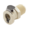"1/8"" MNPT PMC Series Polypropylene Body - Shutoff (Insert Sold Separately)"
