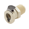 "1/4"" MNPT PMC Series Polypropylene Body - Shutoff (Insert Sold Separately)"