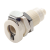"1/16"" Hose Barb PMC Series Polypropylene Panel Mount Body - Shutoff (Insert Sold Separately)"