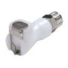 "1/4"" In-Line Ferruless PMC Series Acetal Body - Shutoff (Insert Sold Separately)"