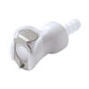 "1/4"" In-Line Hose Barb PLC Series Acetal Body - Shutoff (Insert Sold Separately)"