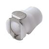 "3/8"" MNPT PLC Series Acetal Body - Shutoff (Insert Sold Separately)"