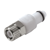 "3/8"" In-Line Ferruless PLC Series Acetal Insert - Shutoff (Body Sold Separately)"