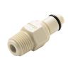 """1/4"""" MNPT PLC Series Polypropylene Insert - Shutoff (Body Sold Separately)"""