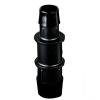 "5/32"" x 3/32"" Tube ID Black Nylon Reduction Coupler"
