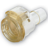"1/2"" In-line Hose Barb Polysulfone Coupling Body with Lock (Insert Sold Separately)"