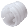 "1/8"" ID (3.2mm ID) Sixtube™ Coupling Insert with Male Fitting - Straight Thru (Body Sold Separately)"