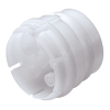 "1/16"" ID (1.6mm ID) Sixtube™ Coupling Insert with Female Fitting - Straight Thru (Body Sold Separately)"