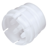 "1/8"" ID (3.2mm ID) Sixtube™ Coupling Insert with Female Fitting - Straight Thru (Body Sold Separately)"