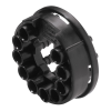 "1/8"" ID (3.2mm ID) Tentube™ Coupling Body with Female Fitting - Straight Thru (Insert Sold Separately)"