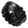 "1/16"" ID (1.6mm ID) Tentube™ Coupling Body with Female Fitting - Shutoff (Insert Sold Separately)"