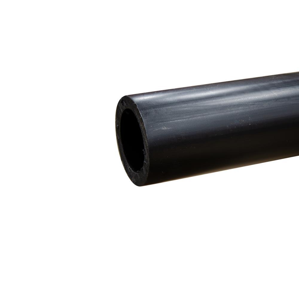 "2"" Black Polypropylene Tube"