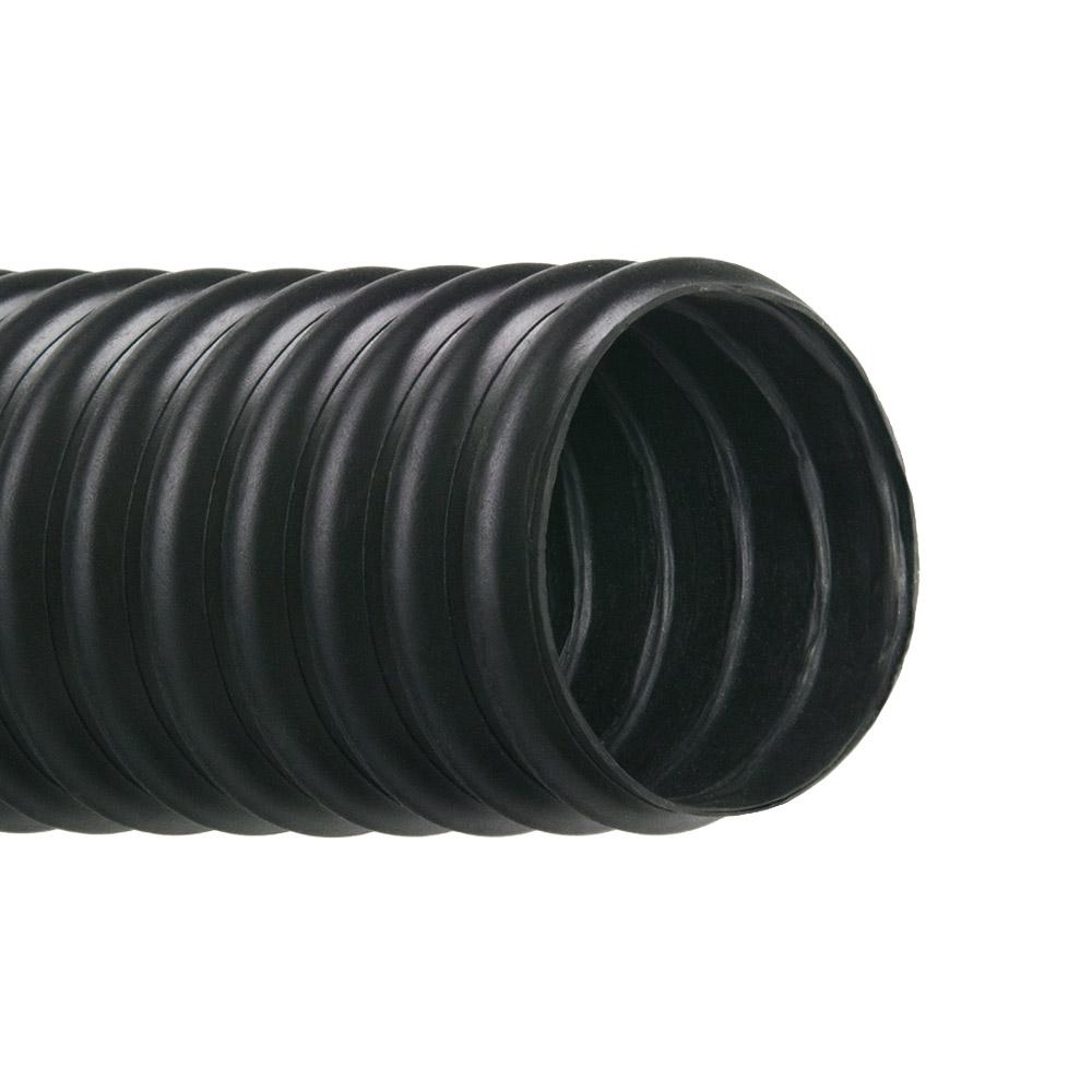 "1.5"" ID Vac-U-Flex® TPE Black Hose"