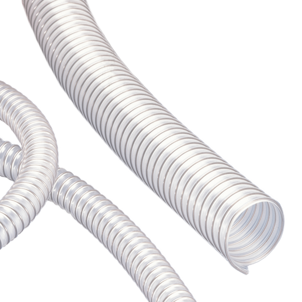 "3"" ID x 3.39"" OD AIRDUC® PUR 355 AS Hose"