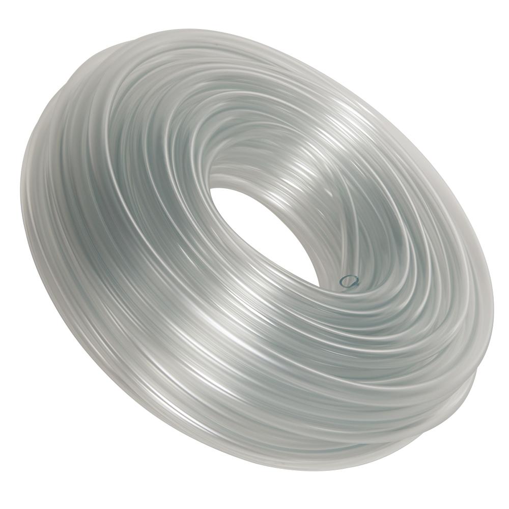 "2"" ID x 2-1/2"" OD x 1/4"" Wall Versilon™ C-219-A Flexible PVC Tubing"