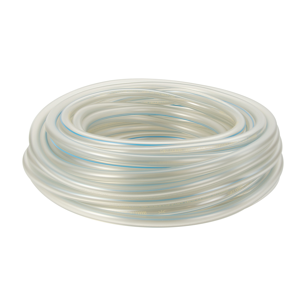 "1"" ID x 1-1/2"" OD 1/4"" Wall Tygon® S3™ M-34-R Sanitary Raw Milk Tubing"