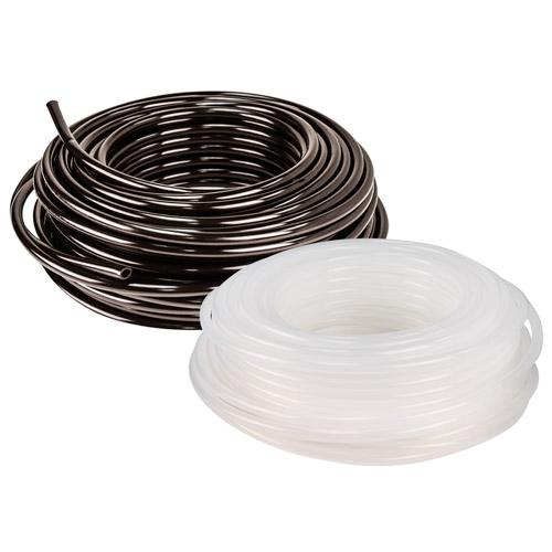 100 Ft 3//8 ID x 1//2 OD x .062 Wall Black NSF-51 Polypropylene Tubing
