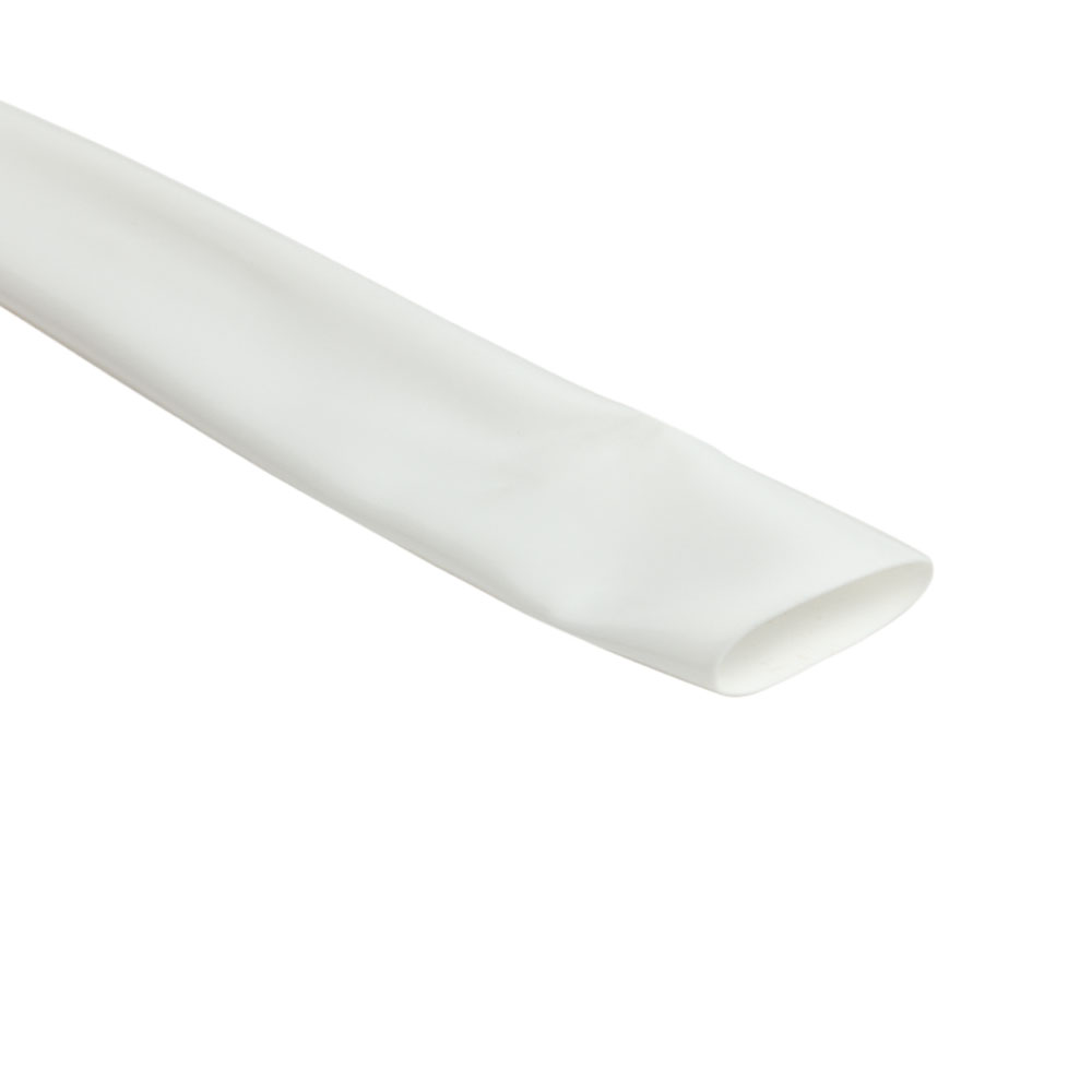 "2-1/2"" White VinylGuard Heat Shrink Tubing"