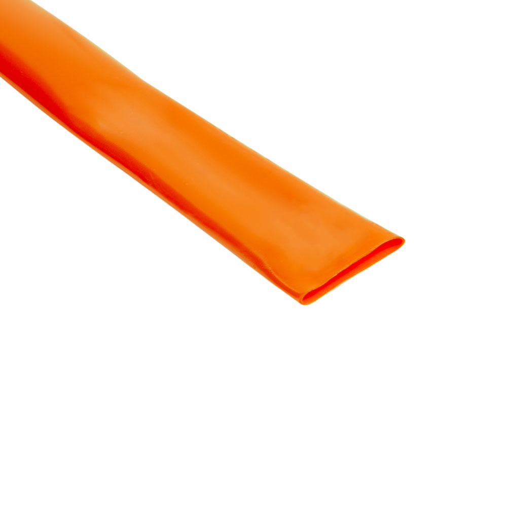 "2-1/2"" Orange VinylGuard Heat Shrink Tubing"