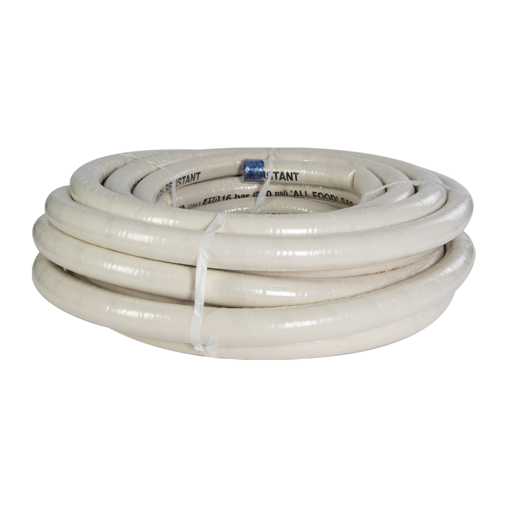 "2"" ID x 2.56"" OD Alfagomma® Crush Resistant Food & Beverage Suction & Discharge Hose"