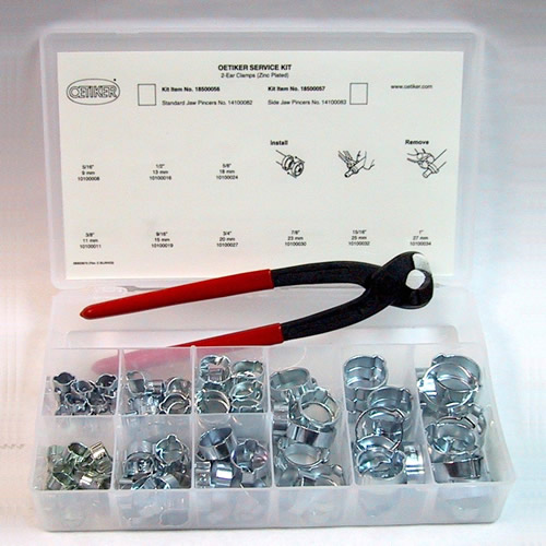 2-Ear Service Kit with Standard Jaw Pincer