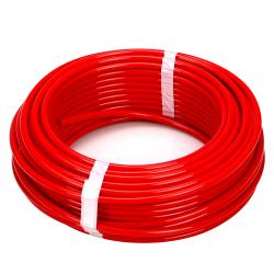 """0.170"""" ID x 1/4"""" OD x 0.040"""" Wall Red LLDPE Tubing"""