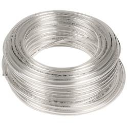 """.0625"""" ID x 1/8"""" OD x .031"""" Wall Clear Tamco® EH-98A Polyurethane Tubing"""