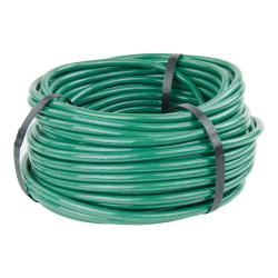 "1/8"" ID x 1/4"" OD x 1/16"" Wall Opaque Green PVC Tubing"