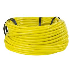 "1/8"" ID x 1/4"" OD x 1/16"" Wall Opaque Yellow PVC Tubing"